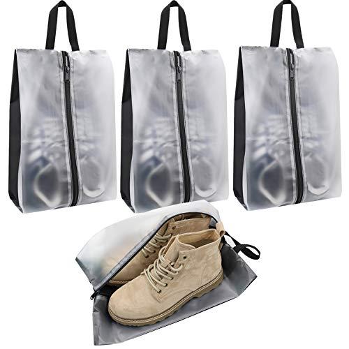 Bolsas de zapatos de viaje, impermeables, portátiles, con asa, para hombres y...