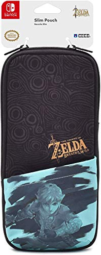 "Hori Custodia Slim ""Zelda Breath of The Wild"" Per Nintendo Switch/Lite - Ufficiale Nintendo - Nintendo Switch"