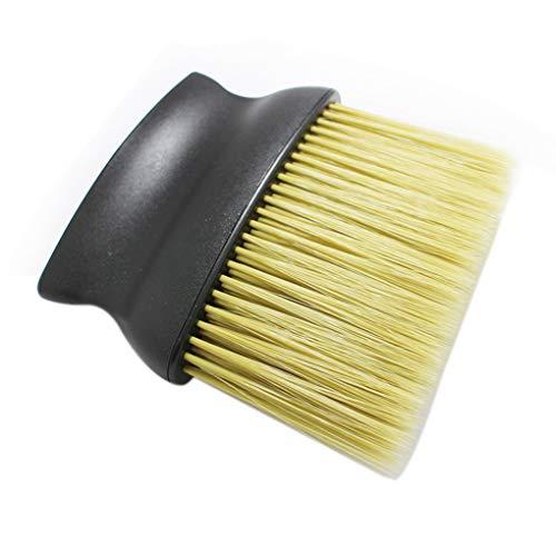 Mingtongli Barber Neck Gesicht Duster Pinsel Friseurbürste Hair Salon Pinsel Gesichtsbürste Frisieren Halsreinigungszubehör mit PP Griff