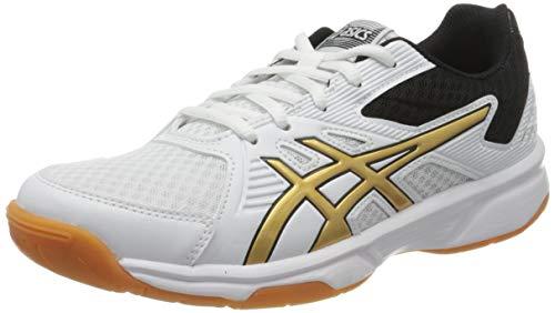 Asics 1072a012-106, Zapatos de Voleibol para Mujer, White, 39 EU