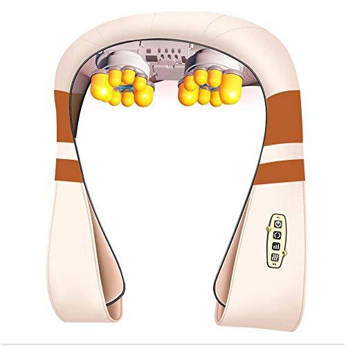 MKLLIJD Form Massage Elektrische Shiatsu Rücken Schulter AnsatzMassager Multifunktionaler Schal Beheizte Kneading Auto/Haupt Massage