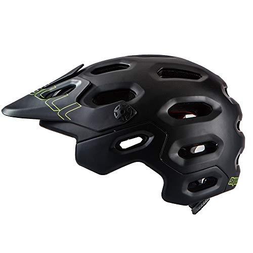 BESTSOON-SOCF Casco de moto profesional para bicicleta de montaña Rally Sprint, casco...