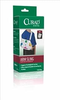 Medline Curad Toddler Arm Sling with Shoulder Pad, Pediatric Print