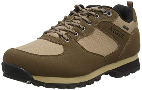Aigle Herren Plutno Mtd Sneaker, Braun (Sepia 001), 44 EU