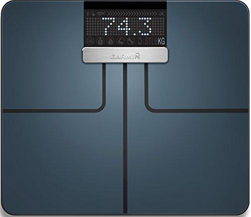 Garmin Index-Báscula de baño Digital, Vidrio,...