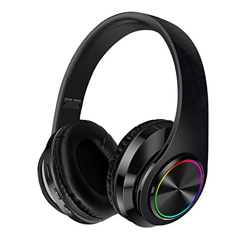 Noise Cancelling Headphones with Mic Bluetooth Wireless & Wired Headphones...