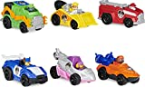 PAW PATROL True Metal Movie Gift Pack of 6 Collectible Die-Cast Toy Cars, 1:55 Scale, Kids' Toys for Ages 3 and up La Patrulla Canina-6 Vehículos Verdadero, Multicolor (Spin Master 6060428)