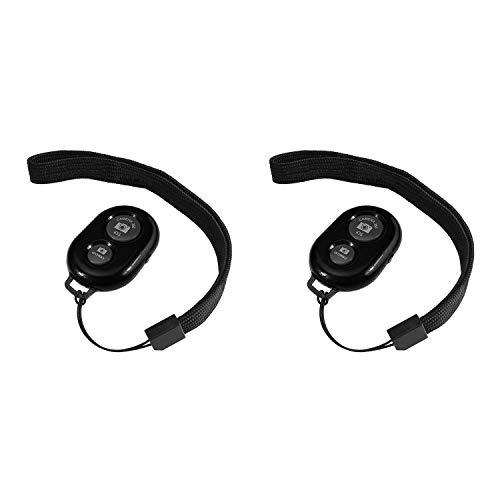 Mando a distancia Bluetooth, Alfort inalámbrico para Smartphones y Controlador de disparador a distancia adaptado a déclenments des Apple iOS y Android/iPhone/iPad/Samsung Galaxy/Huawei/Motorola