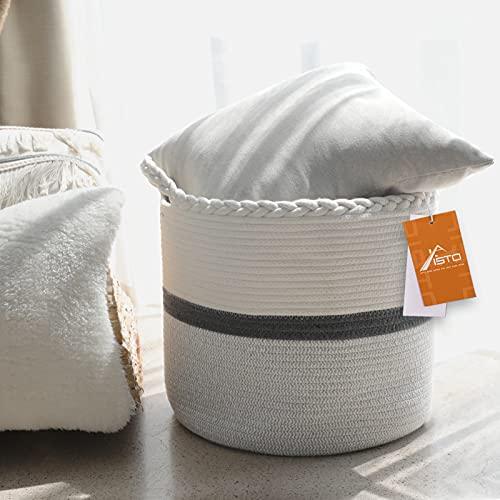 (35% OFF) Aisto 100% Cotton Woven Basket for Storage $17.54 – Coupon Code