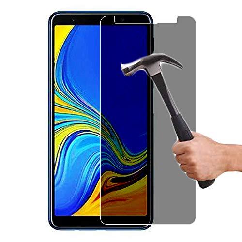 Lapinette Panzerglas Kompatibel mit Samsung Galaxy A9 2018 Anti Spy - Privacy Bildschirmschutzfolie - Galaxy A9 2018 Anti Spy Panzerglas - 9H Festigkeit Folie - Privaxy Panzerfolie