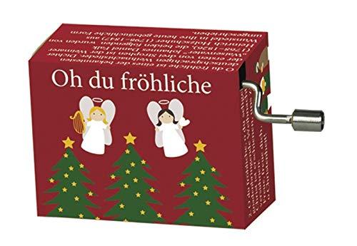 Fridolin Spieluhr Minidrehorgel Oh du fröhliche Weihnachtslied