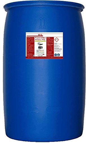 HaTec LKW-Reiniger, Truck & Bus Reinigung+Pflege 210kg/Fass mit verbessertem Rückglanzeffekt, Lkwreiniger, Truckreiniger, Planenreiniger, Insektenentferner, Busreiniger, Innenraumreiniger