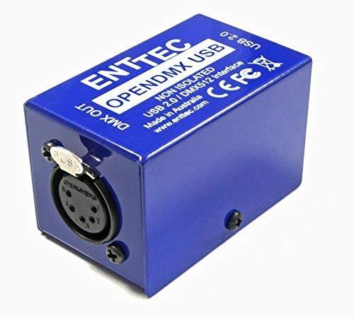 Enttec Open DMX USB 70303 Lighting Interface Controller Widget (Open Source/Hardware Only)