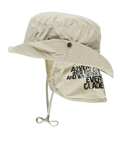 Döll Baby-Jungen Hut mit Nackenschutz Sonnenhut, Braun (Tobacco Brown|Brown 6090), 49