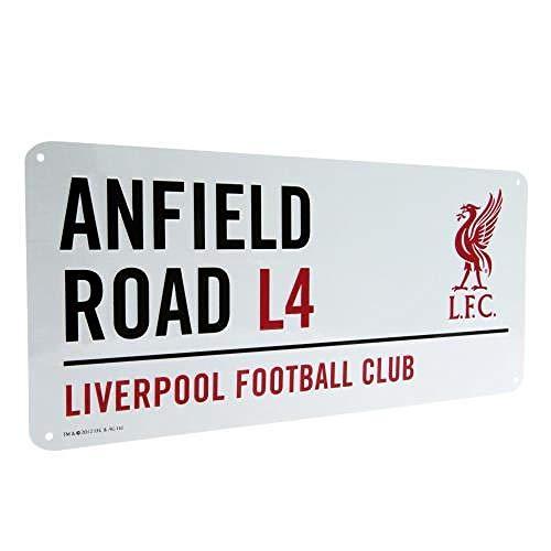 Liverpool FC Street Sign / Metall-Straßenschild