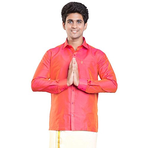 713a13c9937951 Silk Shirts  Buy Silk Shirts Online at Best Prices in India - Amazon.in