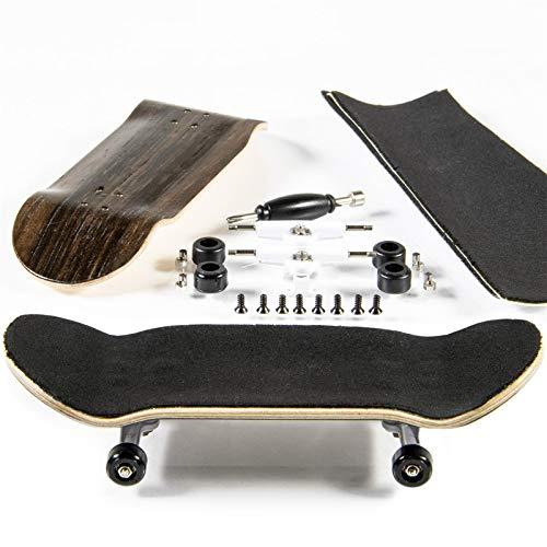 PhoneNatic Finger-Skateboard Bauset in Dunkelbraun (Design 4)