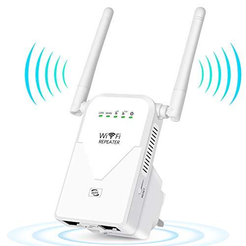 AC750 Repetidor de WiFi Amplificador Señal Router Banda Dual...
