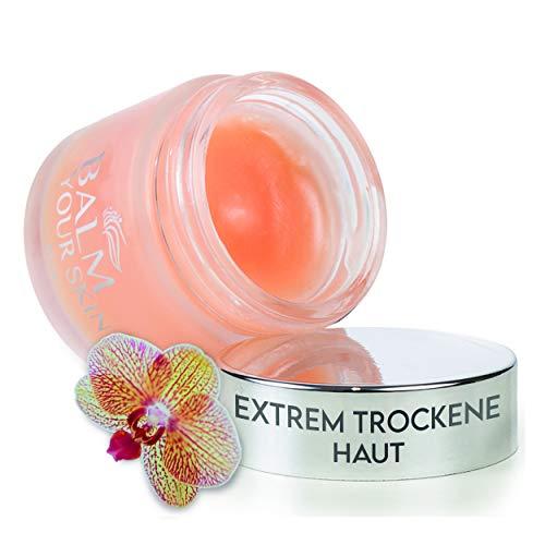 BALM YOUR SKIN 30 ml Hautbalsam - trockene Haut Ekzem Creme - Schuppenflechte Salbe - Therapiebegleitend bei Neurodermitis - Ekzem Salbe geeignet zu Gesichtspflege sowie Körper Pflege - juckende Haut