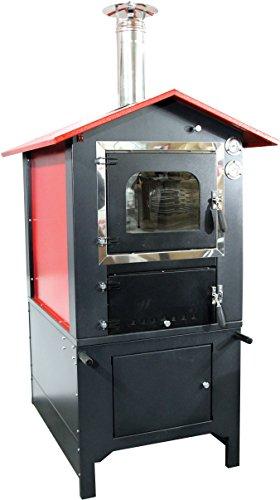 CATOCCIMACCHINE Ofen Holzofen Außenbeleuchtung A Kochfeld indirekte, Camera-Kochfeld cm 80x 40H 35