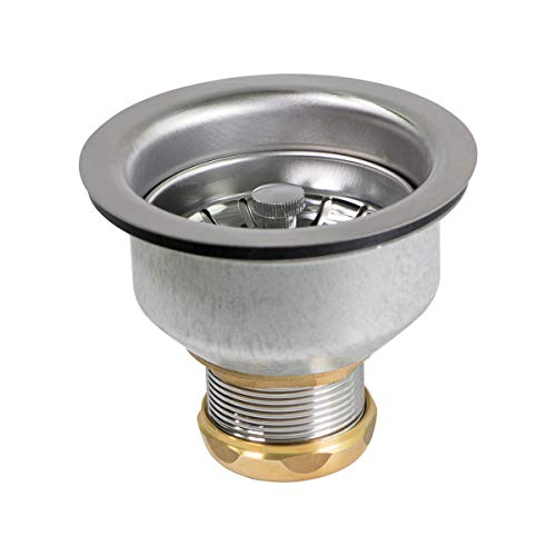 Kitchen Sink (3-1/2 Inch) Stainless Steel Drain Assembly