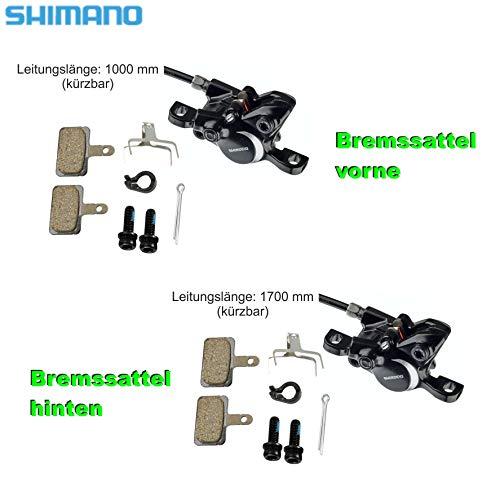 hydraulische Bremse 01110601 Shimano BL-M315 Fahrradbremse im Set Disc Brake - 2