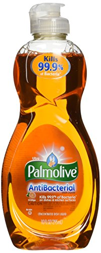 Palmolive Ultra Antibac Dish Washing Liquid, Orange-10oz