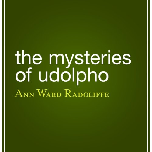 The Mysteries of Udolpho audiobook cover art