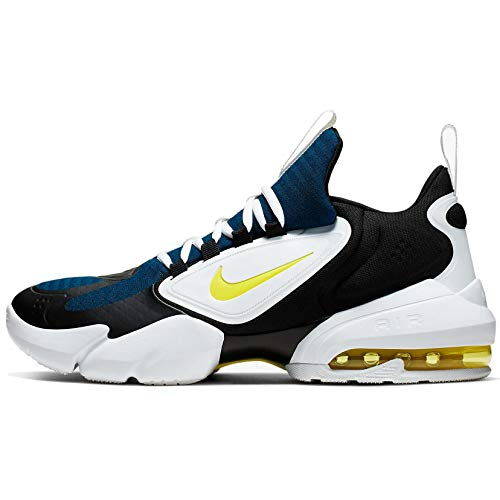 Nike Herren Air Max Alpha Savage Laufschuhe, Blau (Blue Force/Dynamic Yellow-White-Black 471), 44 EU