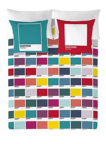 NATURALS Pantone Funda nórdica Mosaic Colorfull Full Complet Cama 135