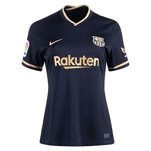 Nike FC Barcelona Away Women's Stadium Soccer Jersey- 2020/21 (M) Black/Gold