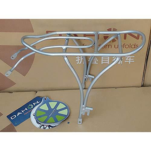 KSTORE 20-inch rack bicycle rear Dahon P8 folding bike aluminum alloy rear shelf D8 P18 Porter,Silber