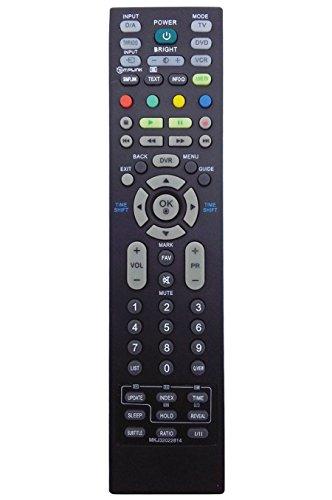 ALLIMITY MKJ32022814 Control Remoto Reemplazar por LG TV 32LT75 32LC56-ZC 32LC55-ZA 32LC55 32LC4D-ZA 32LC45-ZA 32LB75-ZB 32LB75 26LC7DC 26LC55-ZA 26LC46-ZC 26LC45-ZA 26LB76-ZF 26LB75-ZE