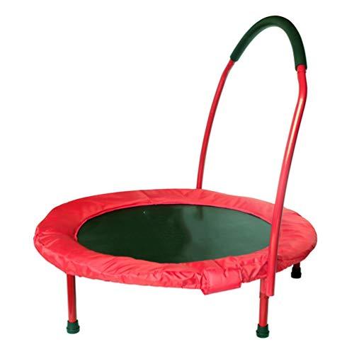 RY-trampoline voor kleine kinderen, voor het huishouden, opvouwbare band met armleuning, springen en buik.