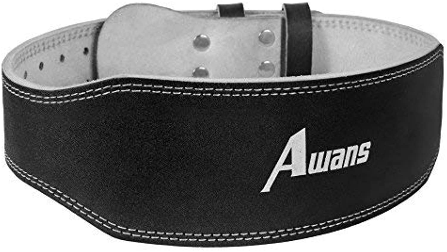 Genuine Leather Weight Lifting Belt for Men and Women   Durable Comfortable & Adjustable with Buckle   Stabilizing Lower Back Support for Weightlifting (X Large   4149 (Waist Size not Pant Size))