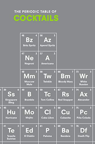 The Periodic Table of COCKTAILS (English Edition)
