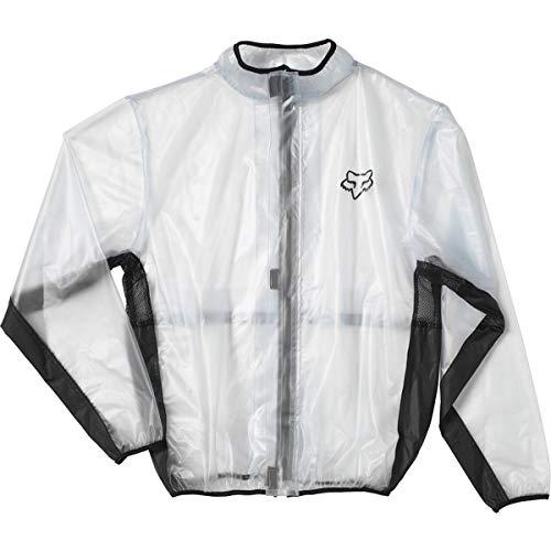 Fox Racing 10033-012-006 Jacket, Adultos Unisex, Clear, XL