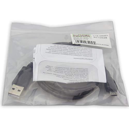caseroxx USB-Kabel, Datenkabel für Samsung Galaxy J1, USB-Kabel als Ladekabel oder zur Datenübertragung in schwarz