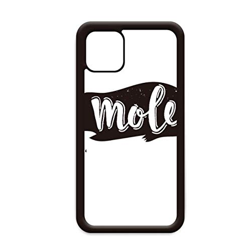 Mole zwart en wit dier voor Apple iPhone 11 Pro Max Cover Apple mobiele telefoonhoesje Shell, for iPhone11 Pro