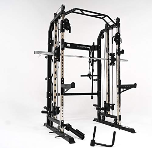 FORCE USA Monster G3 Power Rack, Functional Trainer & Smith Machine Combo (Black)