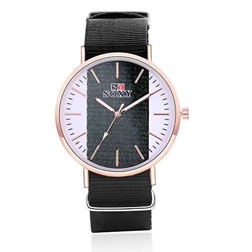 SJXIN Stilvolle Uhr Uhr Mode Mädchen Armband Uhr SOXY Uhr zu sehen Modeuhren (Color : 1)