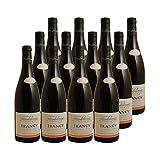 Irancy Rouge 2019 - Domaine Heimbourger - Vin AOC Rouge de Bourgogne - Cépages Pinot Noir, Cesar - Lot de 12x75cl