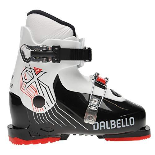 Dalbello CX 2 Bottes de ski pour enfant, Enfant, Noir/blanc., 20.5 MP