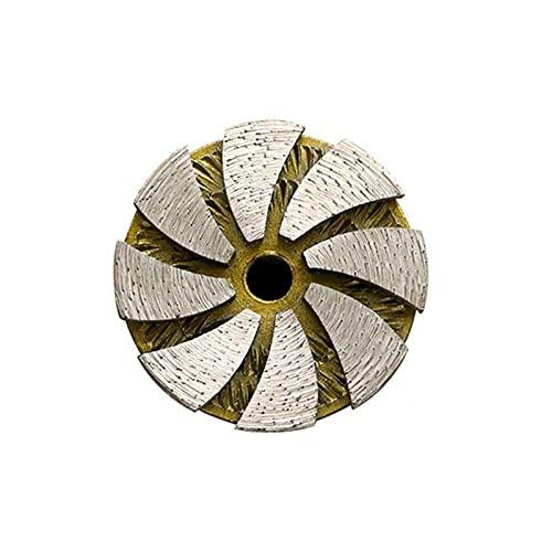 LDDJ Muela Pequeño Diamante Muela de Rueda Discos Cuenco Forma Forma Taza Concreto Granito Cerámica Herramientas Ángulo Amoladora Accesorios Durable (Outer Diameter : 60mm)
