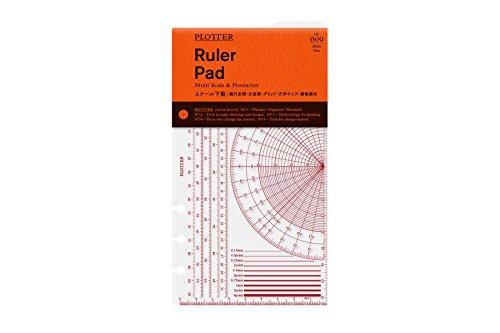 バイブルサイズ PLOTTER/プロッター スケール下敷 77716437