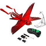 Zing Go Go Bird - Red - Remote Control Flying Toy - Looks and Flies Like A Real Bird - Great Starting RC Toy for Boys and Girls - Packaging May Vary