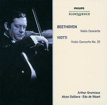 Beethoven: Violin Concerto;Viotti: Violin Concerto No.22