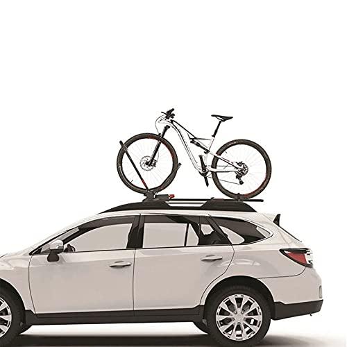 HXXXIN Roof Bike Rack, Front Wheel Fixed Luggage Rack, Car, Car, Mountain Bike Rack, Universal 20 Inch-29 Inch 50.8Cm -73.7Cm Bicycle