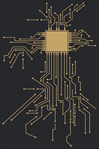 CPU Heart: CPU Notebook I CPU Hearts Prints Journal Notepad (A5 6