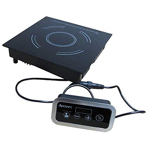 Adcraft IND-DR120V Drop-in Induction Range Cooker with Remote Control, 120v, Gray
